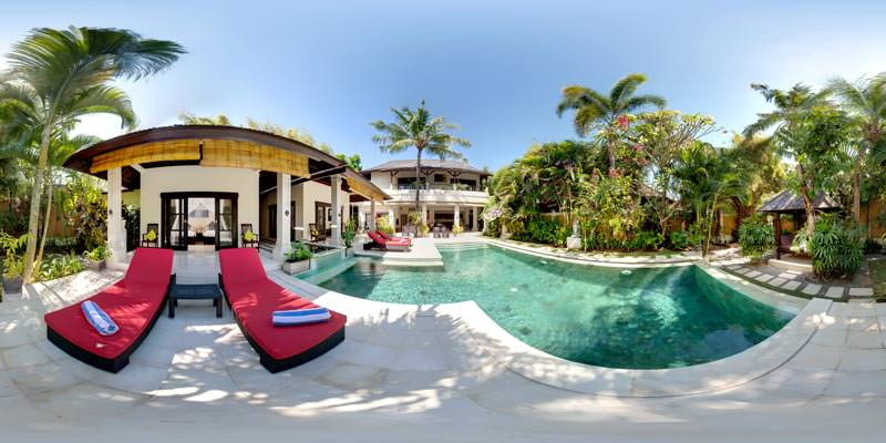 Virtual tour for villa tresna in seminyak bali