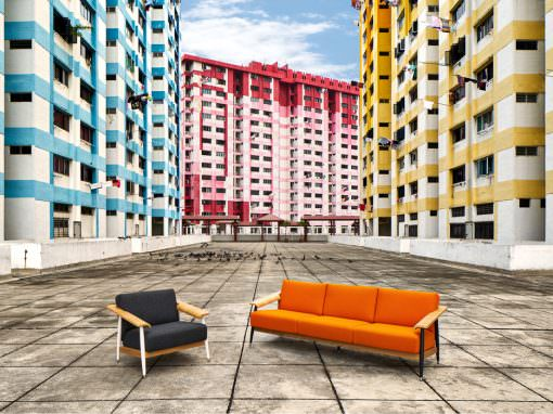 Urban Furniture Shoot at Rochor and Little India Singapore for Momentum Creations