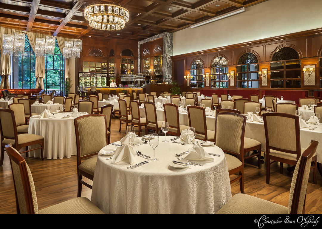 Interior Photography - The Tanglin Club Singapore - The Churchill Room Restaurant 1080
