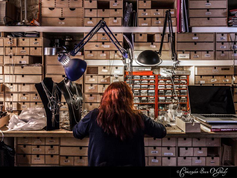 Lifestyle Photography - Lotta Djossou in Paris - Portrait 3