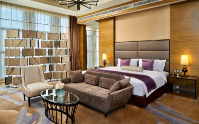 Hospitality Photography for Crowne Plaza Tianjin Meijiangnan in China