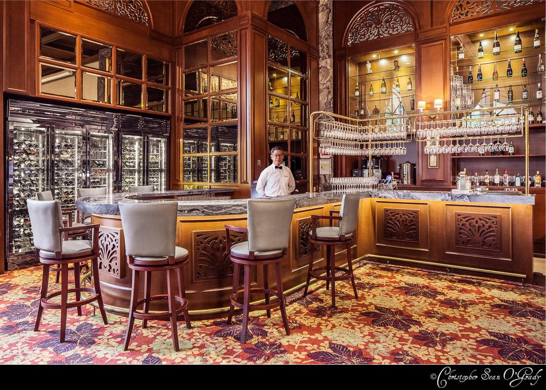Interior Photography - Tanglin Club Singapore - Churchill Restaurant Bar