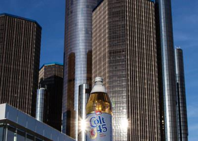 40oz of Colt 45 Consumed in Detroit, U.S.A.