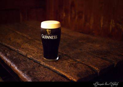 Guinness consumed at John Kavanagh (Grave Diggers) in Dublin, Ir